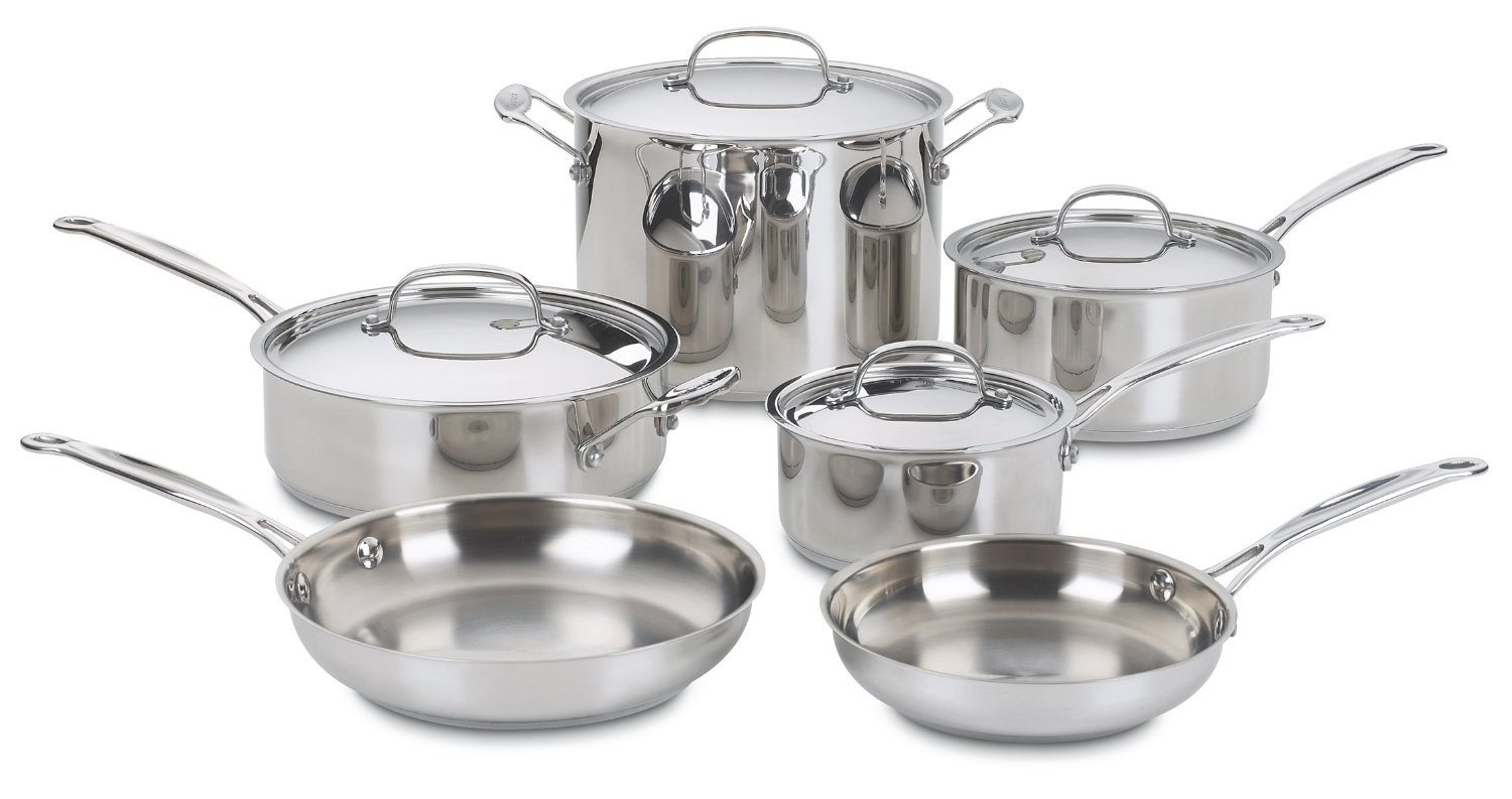 Best pots and pans 5 cookware sets with high rating for Cuisine aluminium