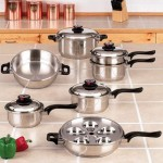 Waterless Cookware – Maxam KT17
