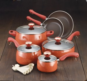 Paula Deen Porcelain Cookware Set