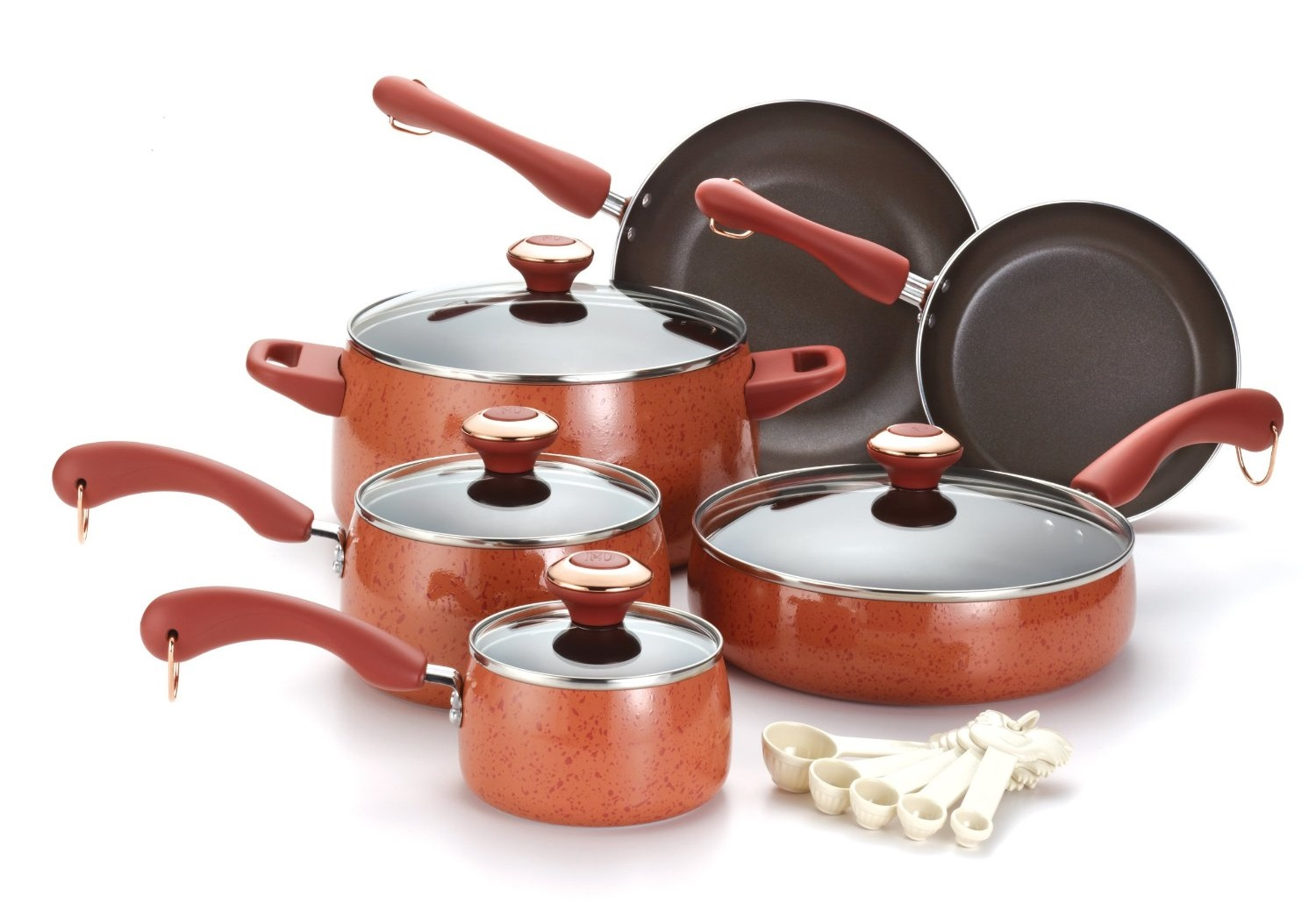Paula Deen Porcelain Cookware Set 15 Piece Nonstick Review
