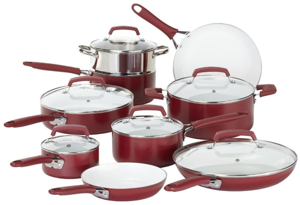 wearever ceramic pots and pans set