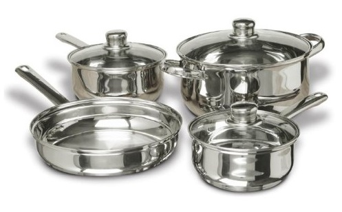 concord stainless steel cookware