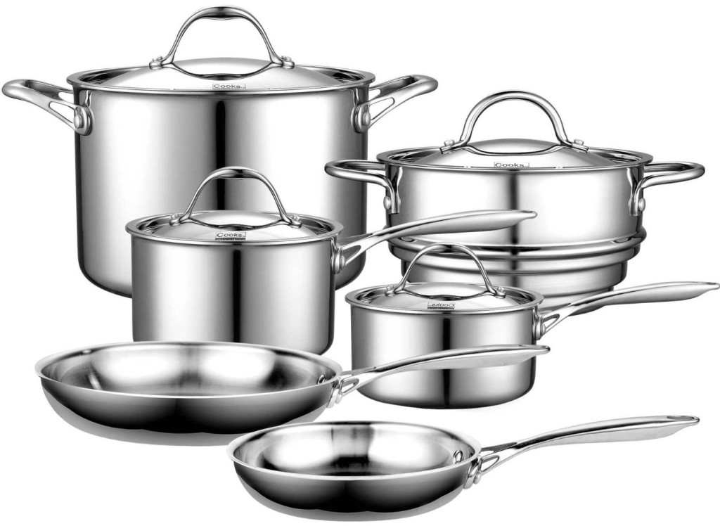 cooks standard multi ply clad review stainless steel cookware
