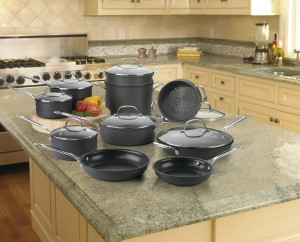 cuisinart 66-17 hard anodized cookware