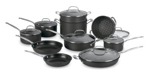 cuisinart chef's classic hard anodized cookware