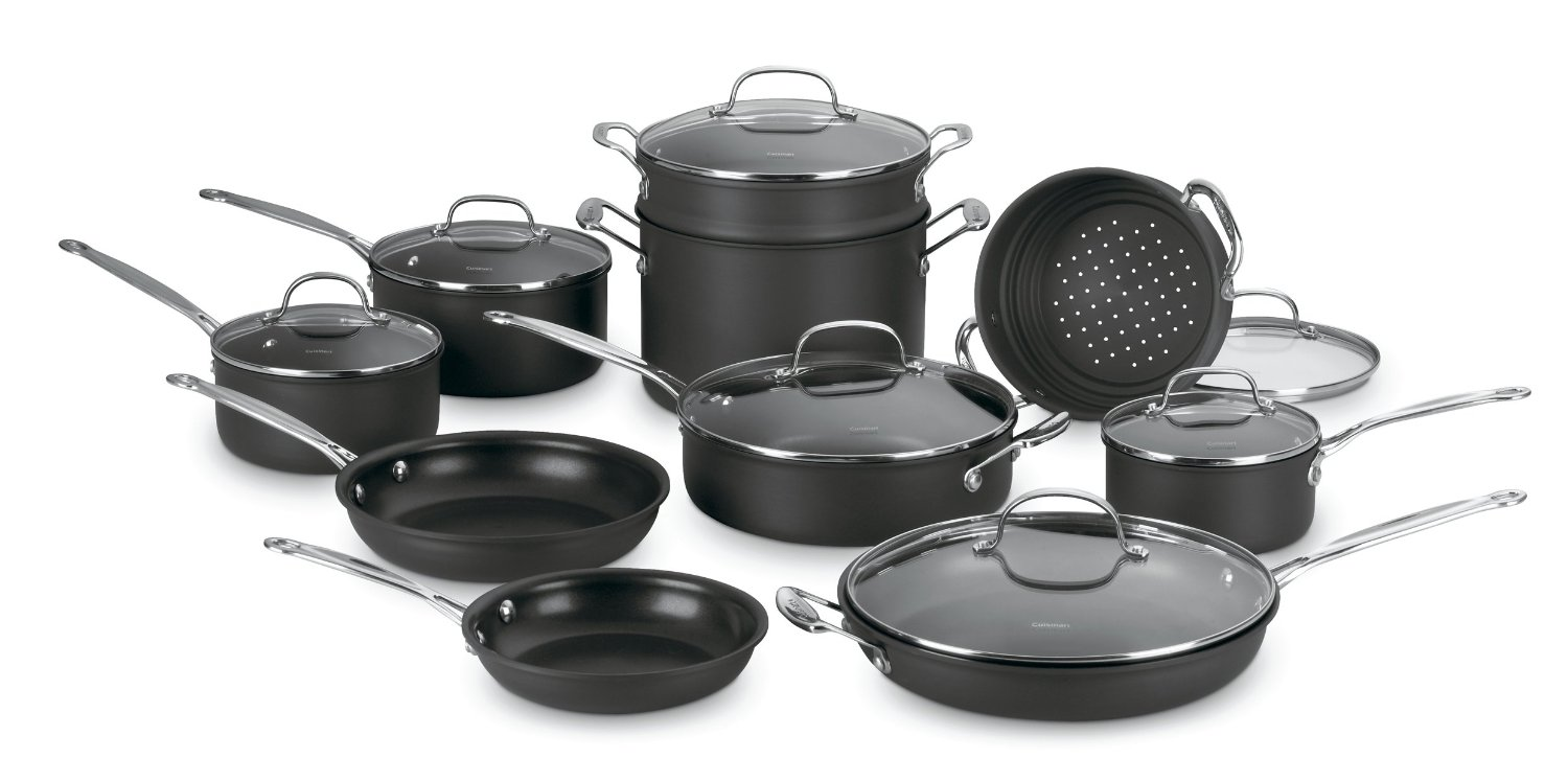 Cuisinart Chef S Clic Hard Anodized Cookware