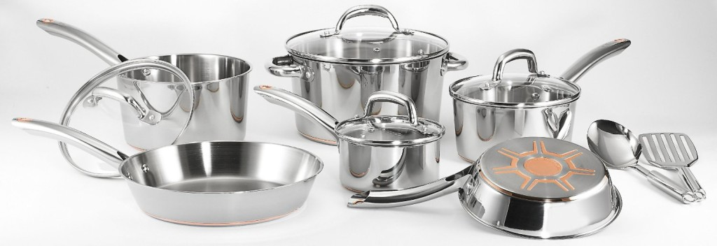 t fal ultimate stainless steel cookware