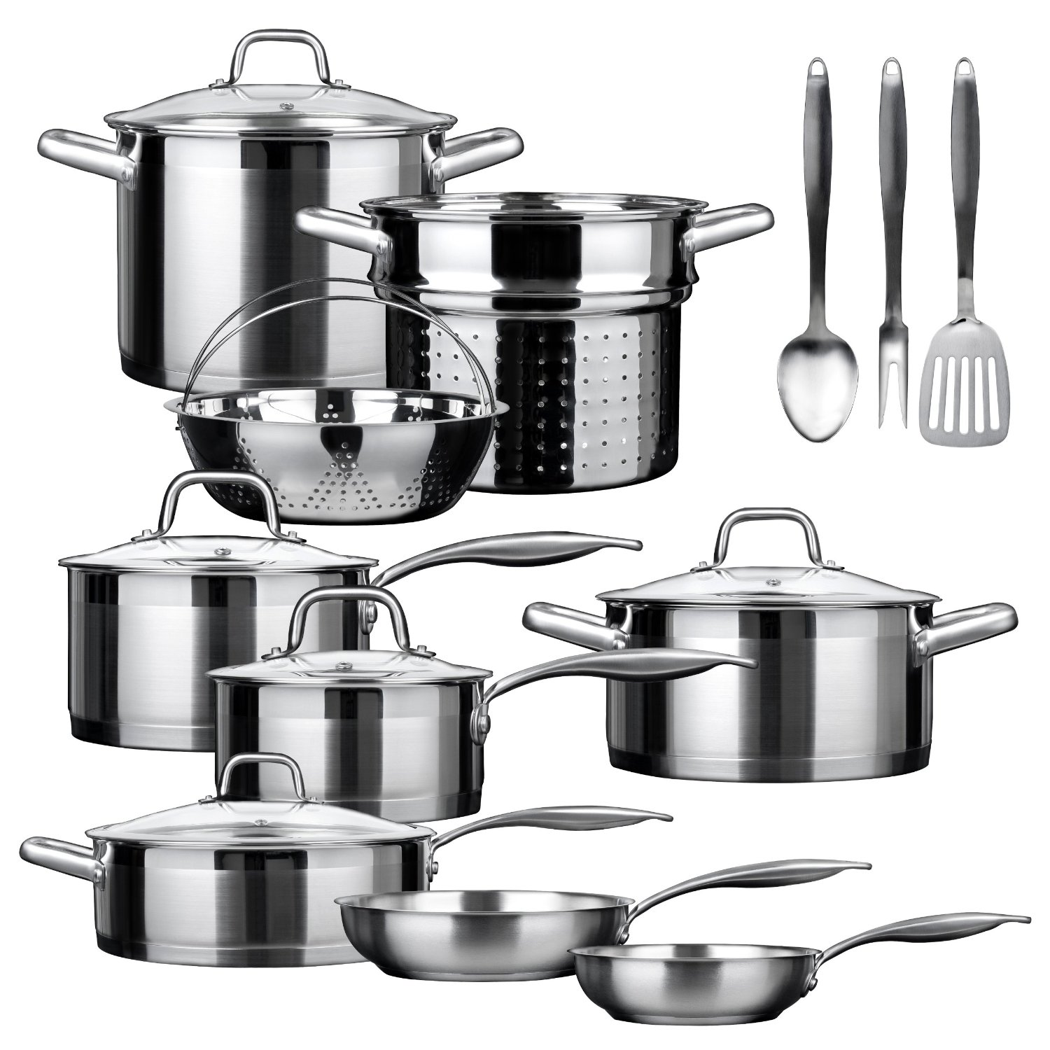 Duxtop Professional 17 Piece Review Stainless Steel Cookware