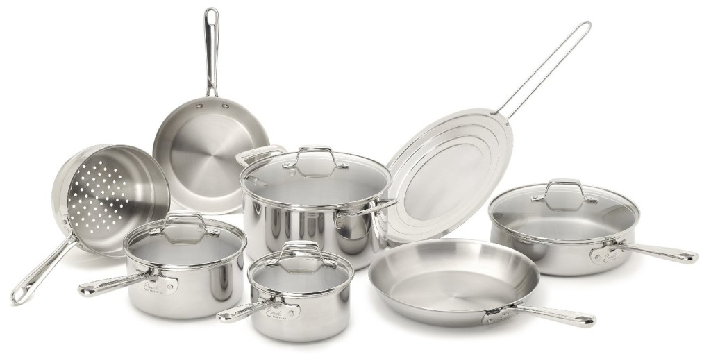 emeril pro-clad tri-ply cookware