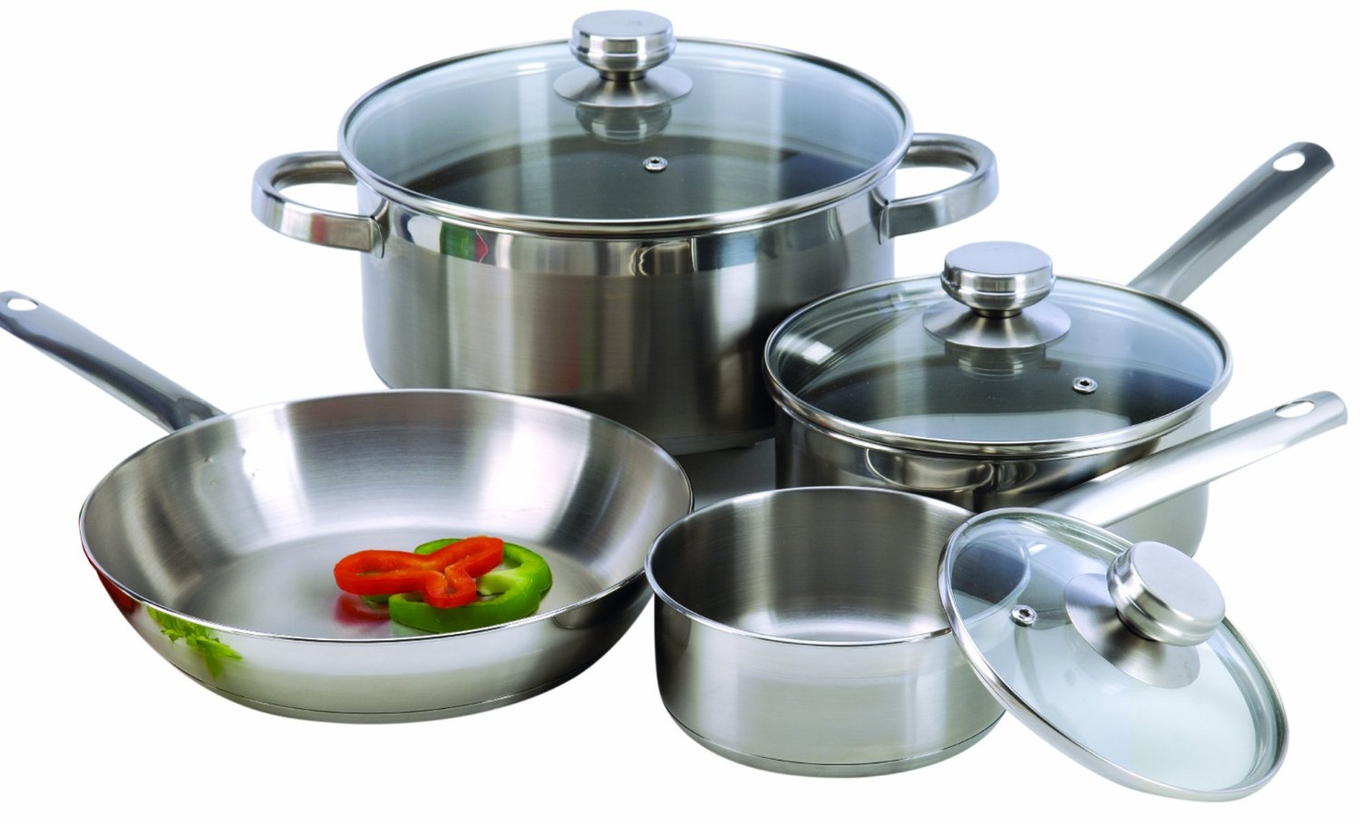 Excelsteel 7-Piece Stainless Steel Cookware Review