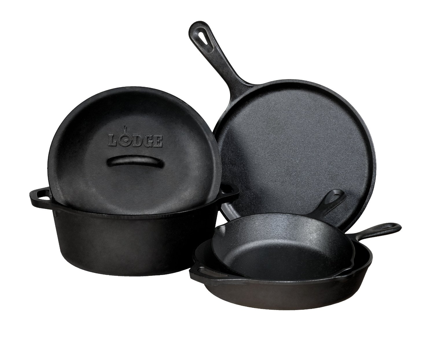 Lodge piece cast iron cookware set review buy