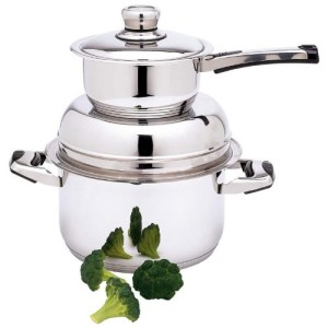 12 element stainless steel waterless cookware