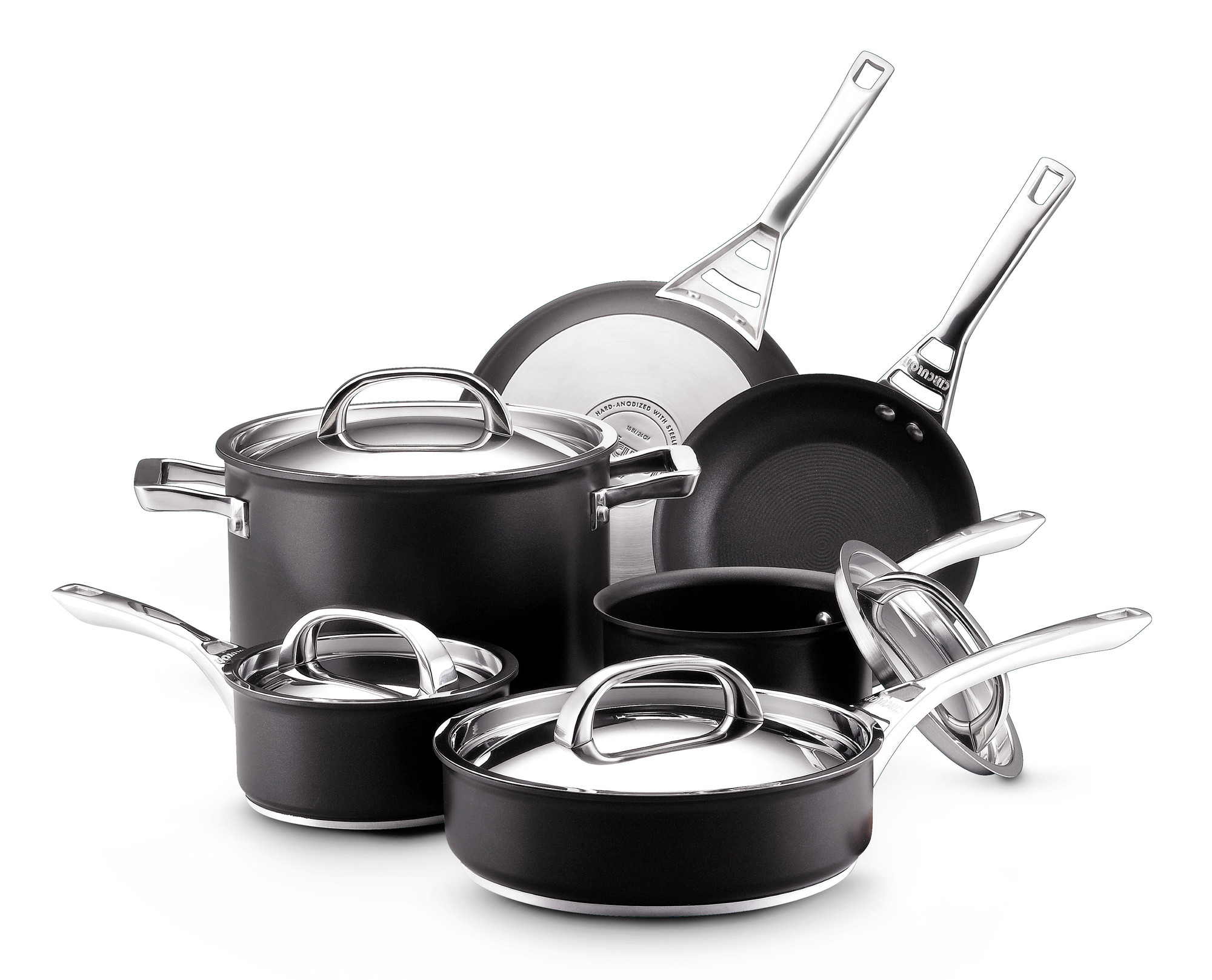 Simply Calphalon Nonstick 10 Piece Set Review : Hard Anodized