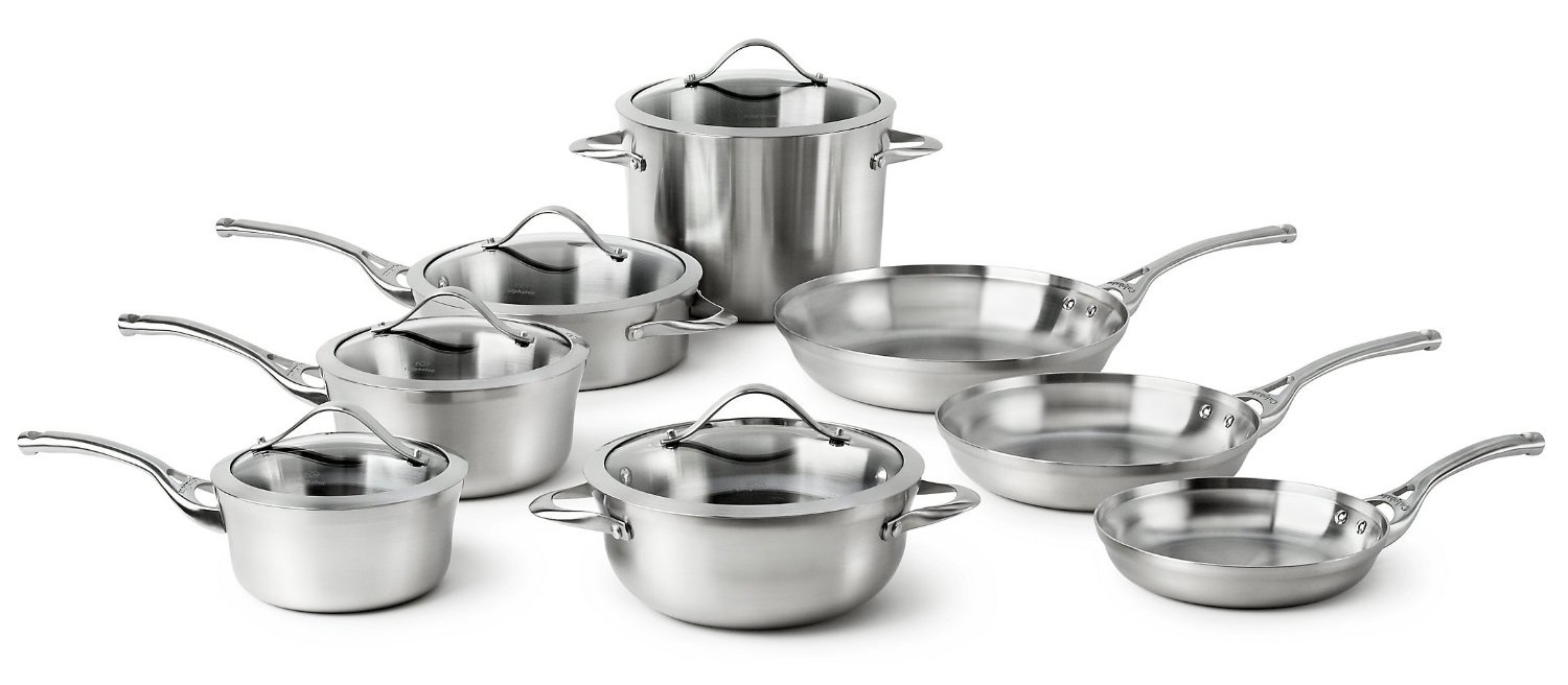 All Clad Vs Calphalon Stainless Steel Tri Ply Cookware