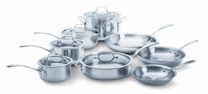 calphalon tri ply stainless steel cookware