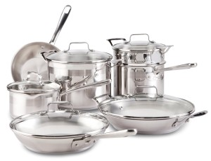emeril chef's stainless 12-piece set