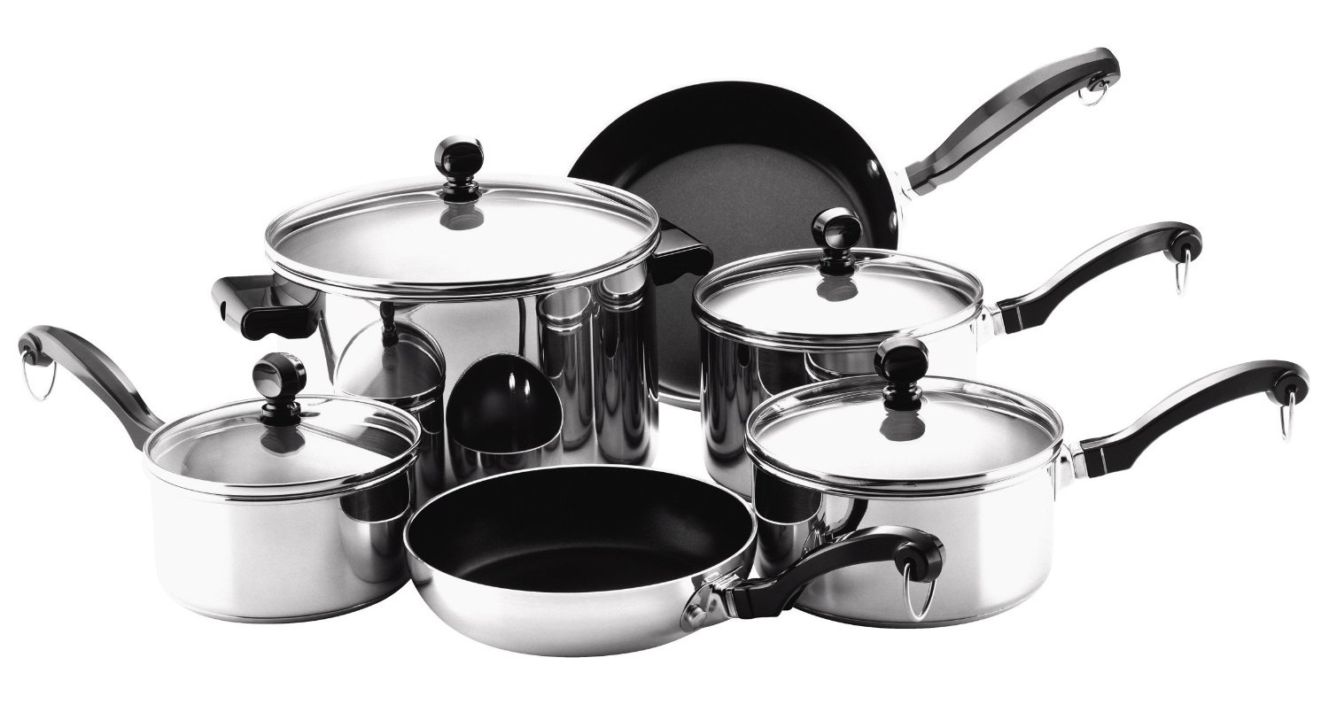 Farberware Classic Cookware Stainless Steel Set Review