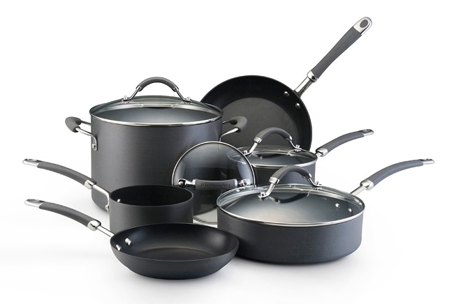 kitchenaid hard anodized nonstick cookware