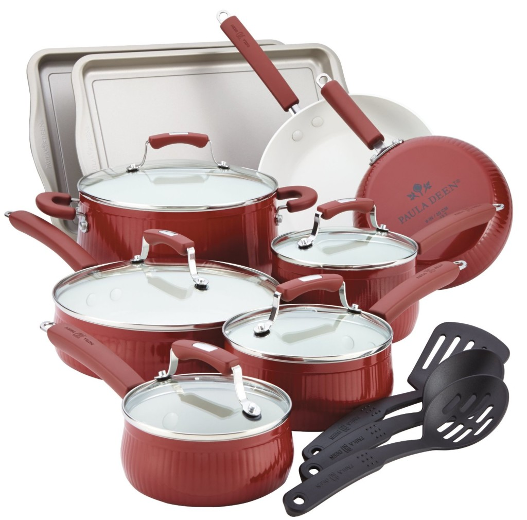 paula deen savannah collection cookware set