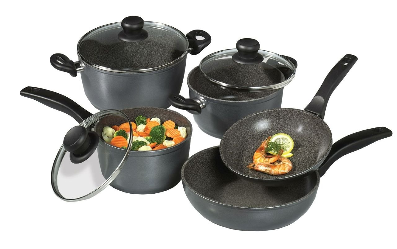 Stoneline Cookware Review Nonstick Set