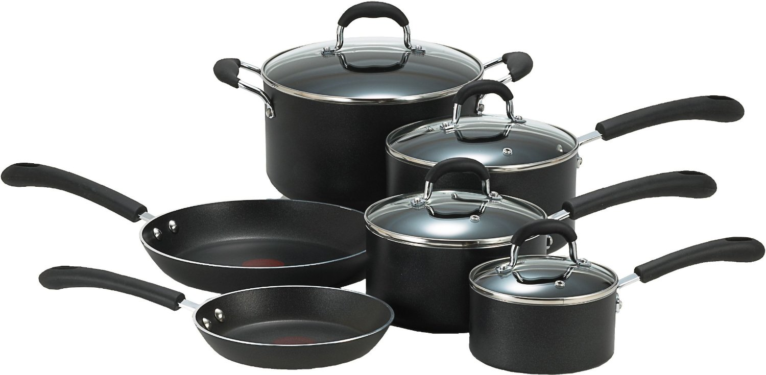 T Fal Professional Nonstick Set Review Cookware With
