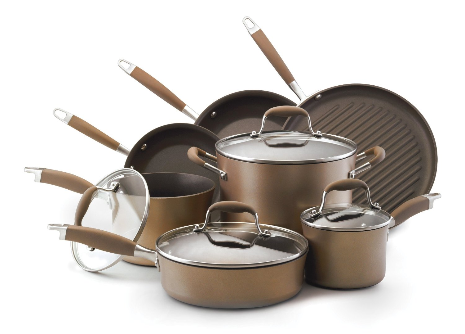 Anolon Advanced Bronze Cookware Set Review Worth The Money