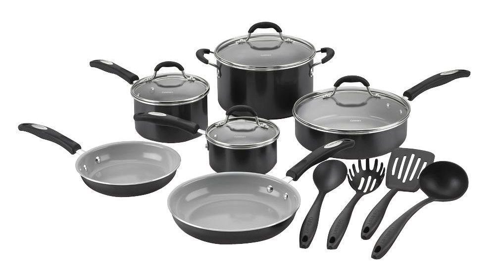Cuisinart Pro Clic 14 Piece Ceramic Nonstick Cookware Review