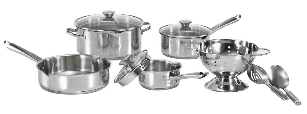wearever cook and strain stainless steel cookware