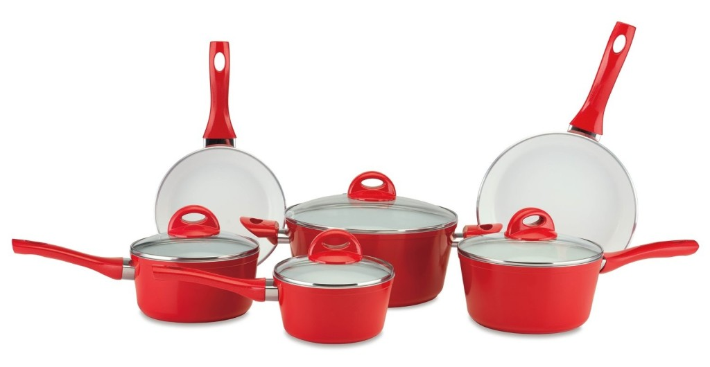cerastone ceramic cookware pressure forged