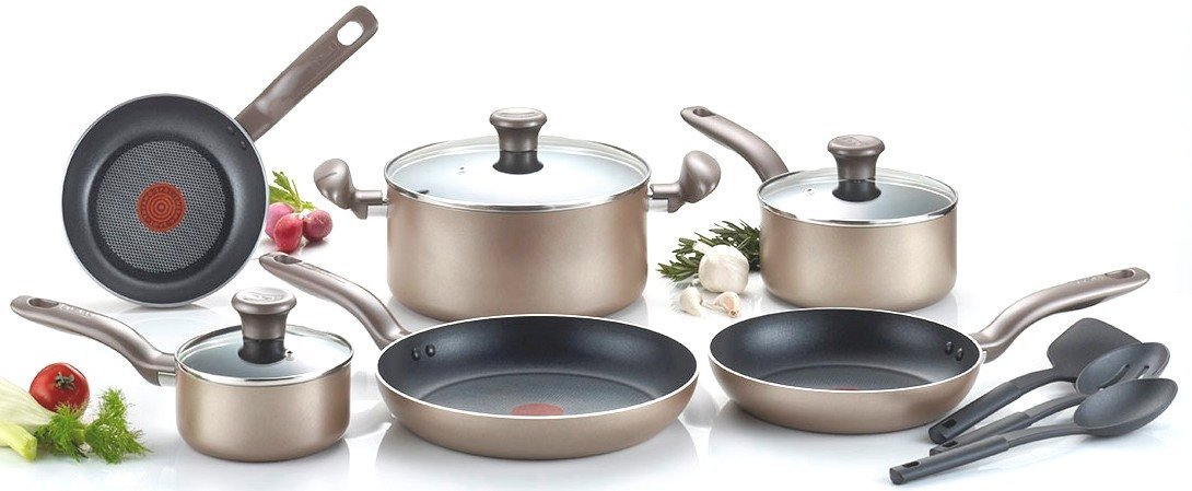 T Fal Metallics Nonstick Cookware Review Buy It