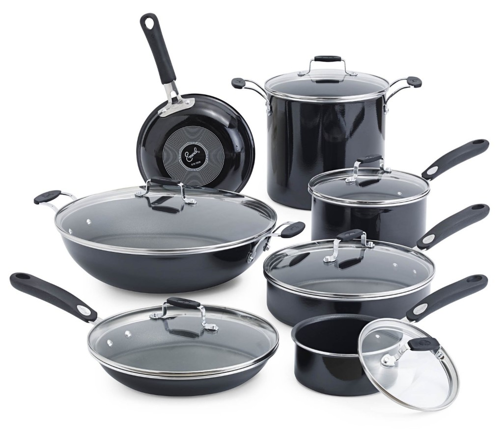 emeril by all-clad hard enamel nonstick cookware