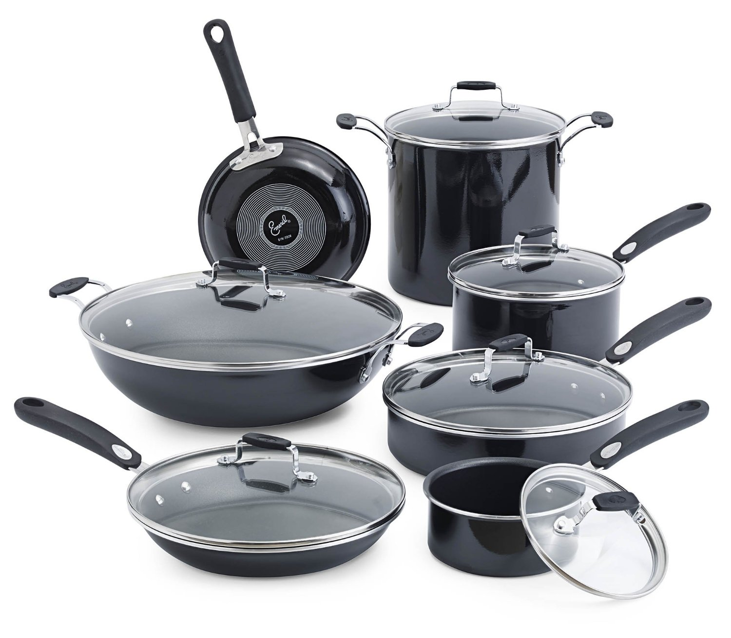 Emeril By All Clad Hard Enamel Nonstick Cookware Set Review