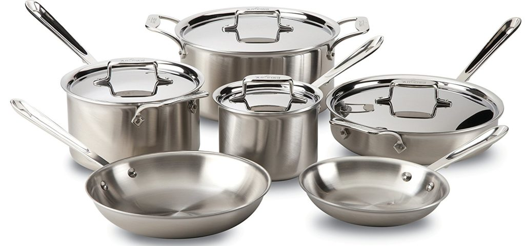 All Clad D5 Cookware