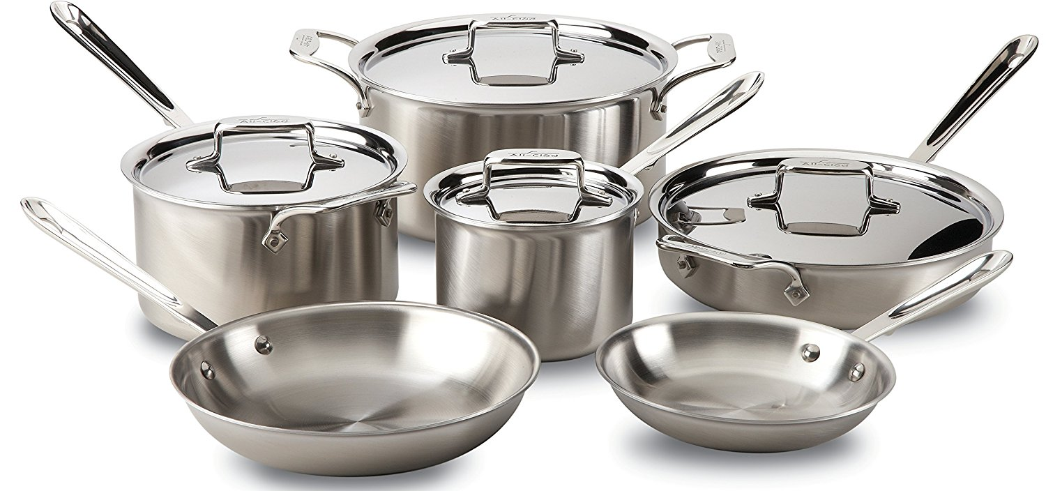 All Clad Tri Ply Vs D5 Review 18 10 Stainless Steel Cookware
