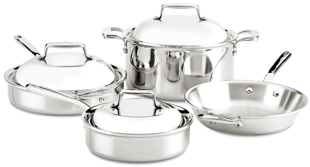 All Clad D7 Cookware