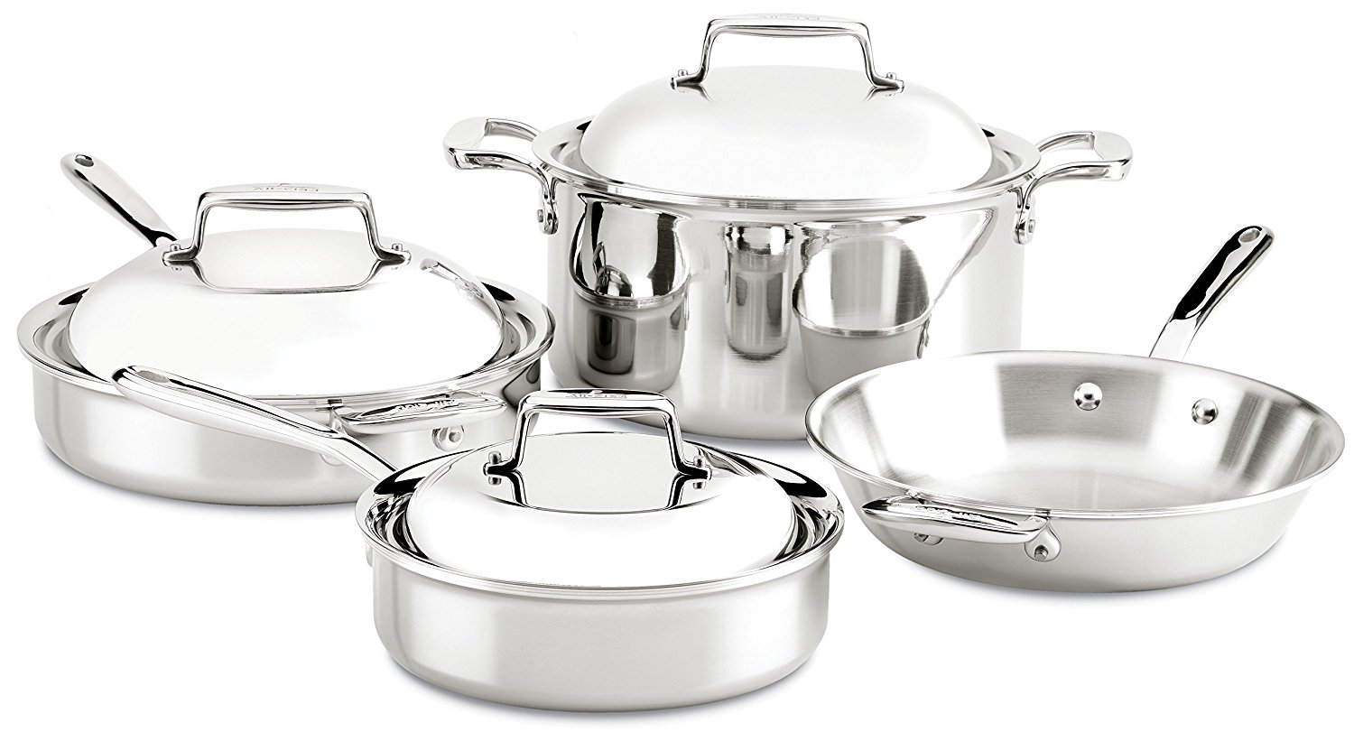 All Clad D5 Vs D7 5 Ply And 7 Ply Stainless Steel Cookware