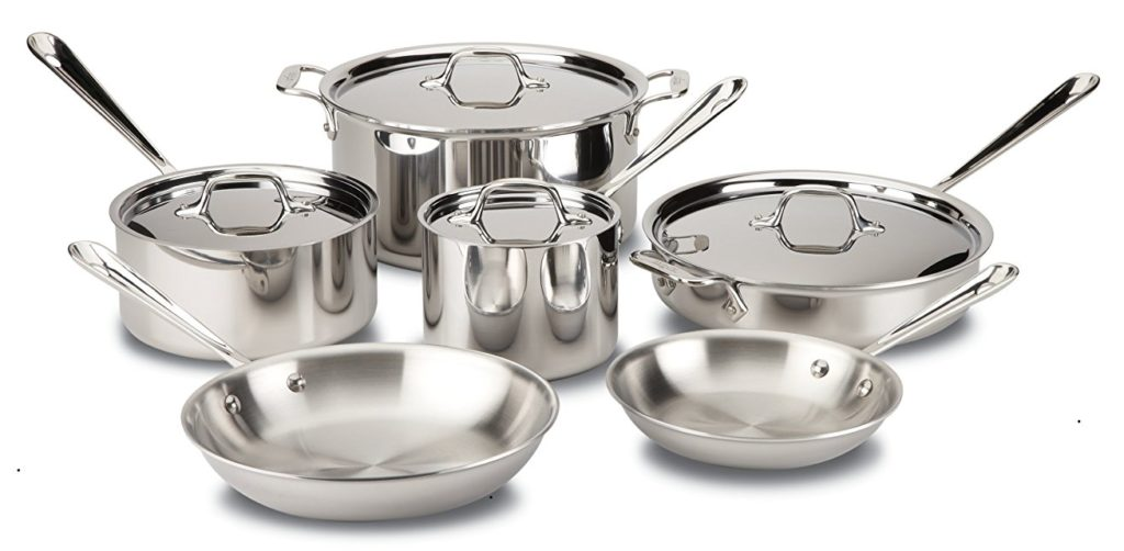 All Clad Stainless Steel Tri-Ply