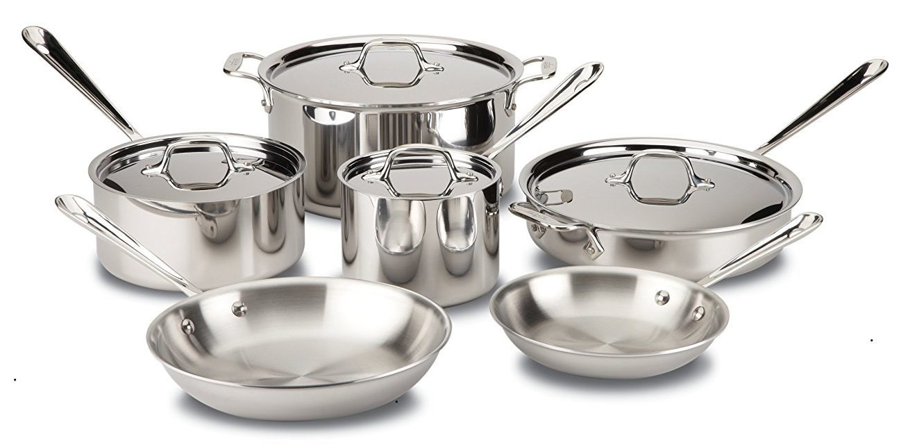 All Clad Vs Cuisinart Cookware Stainless Steel Tri Ply
