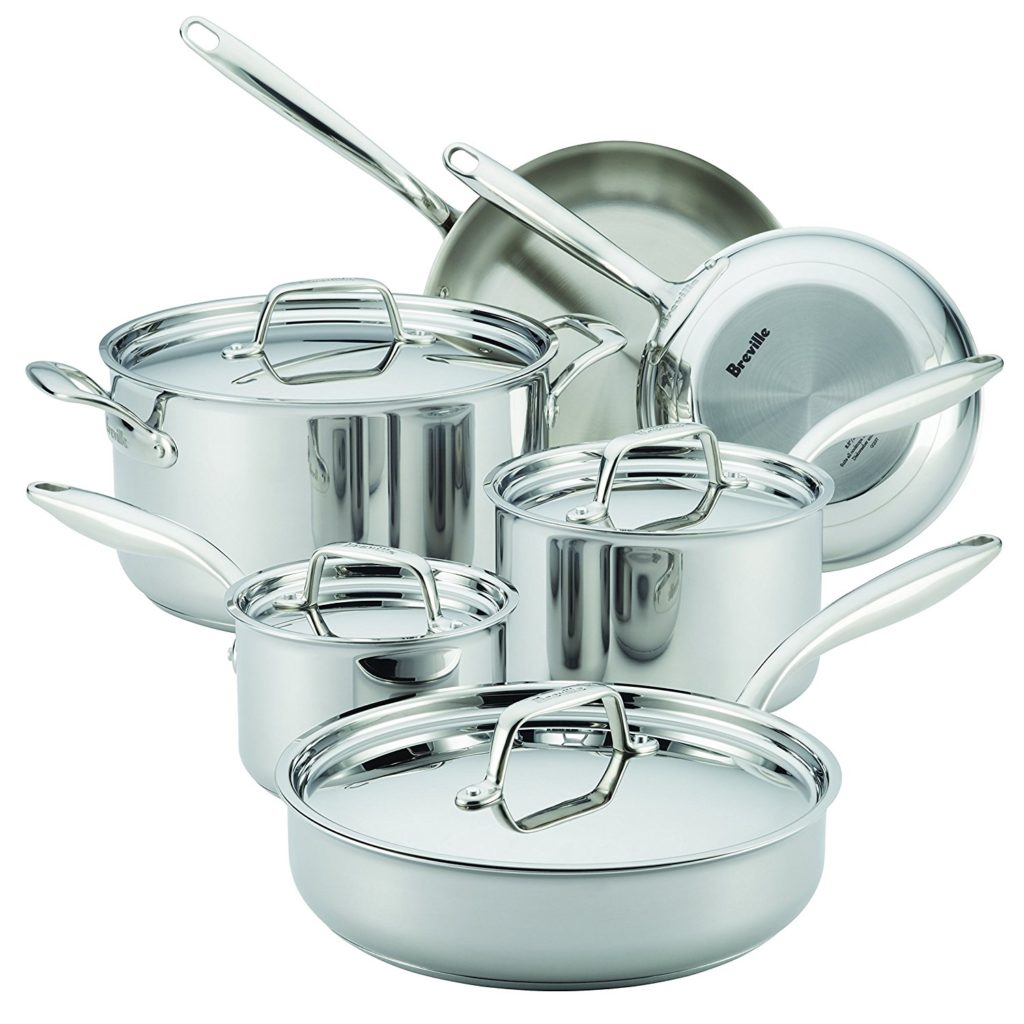 Breville Cookware Reviews Thermal Pro Stainless And Non