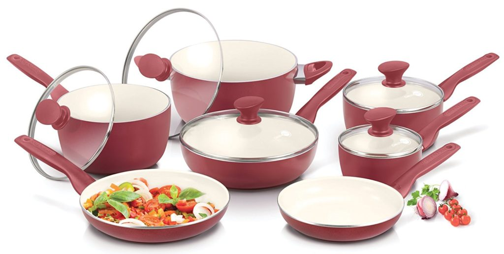 GreenPan Rio Burgundy Cookware