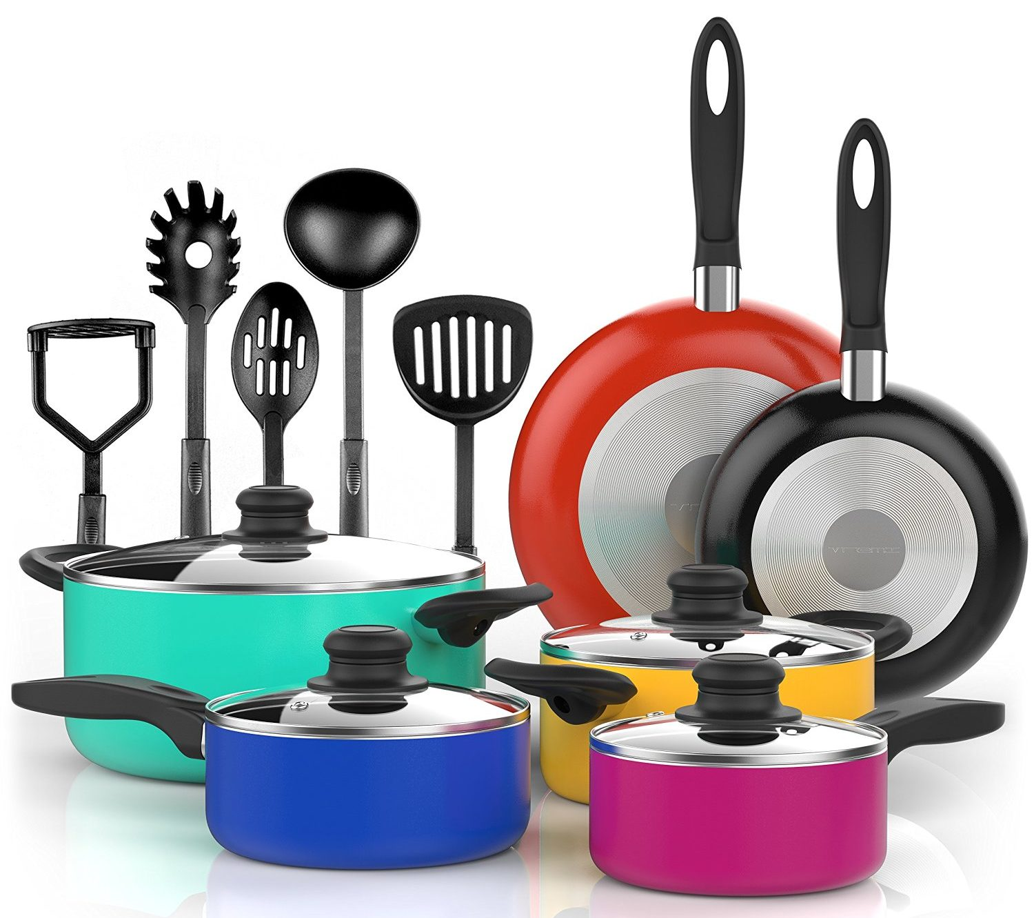 Tramontina Nonstick Cookware Reviews : Ceramic And Hard Anodized