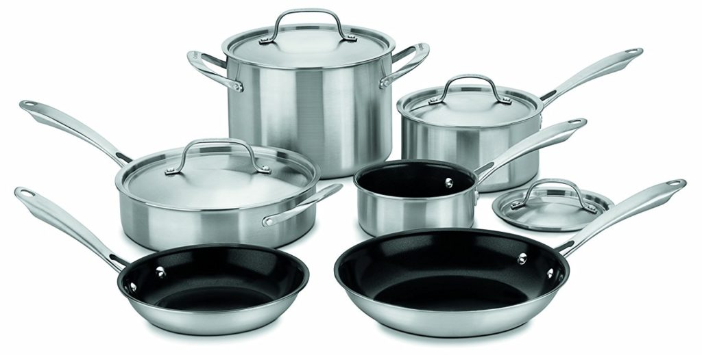 Cuisinart Green Gourmet Tri-Ply Stainless Steel