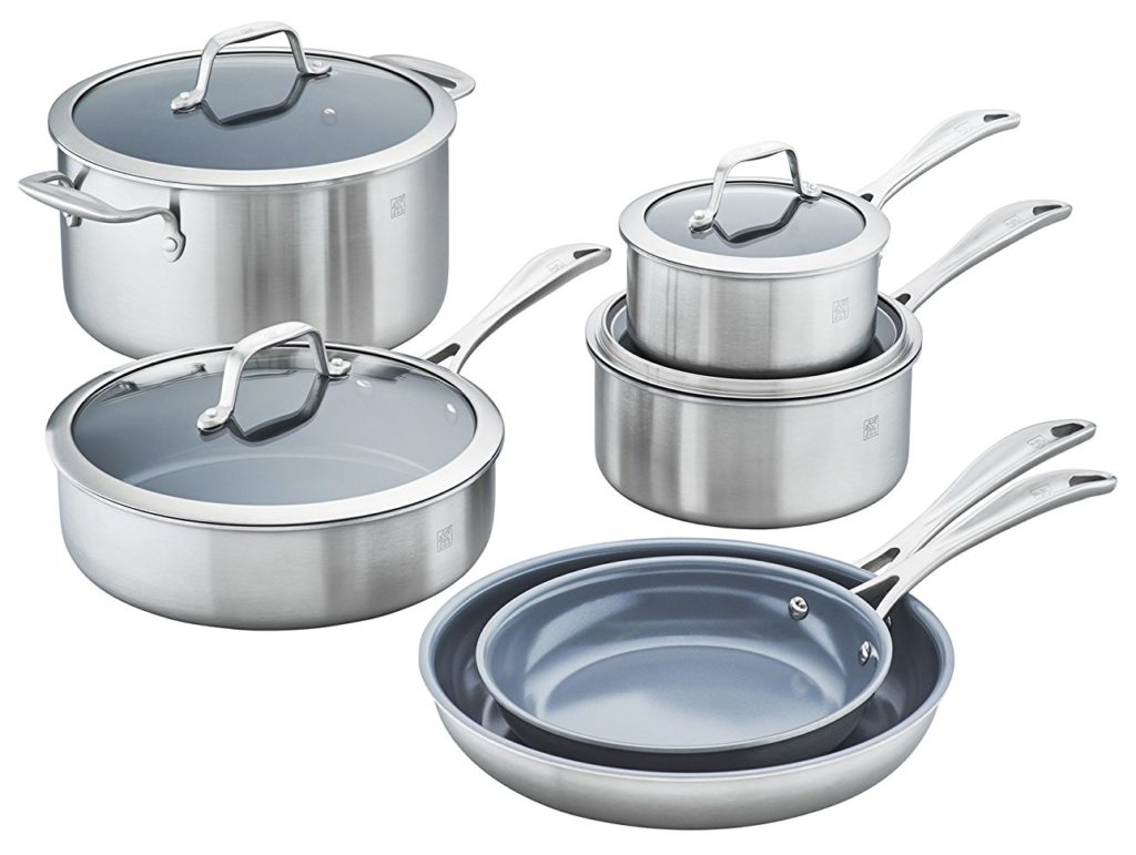 Zwilling Ceramic Cookware Review Spirit 3 Ply Non Stick