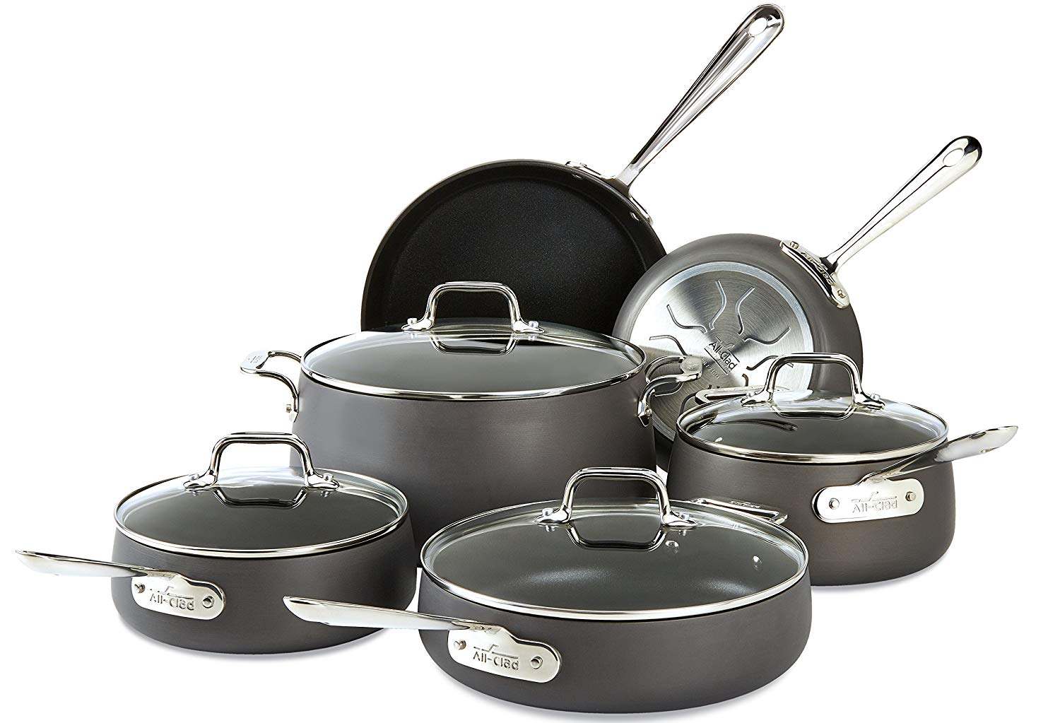 All Clad Ha1 Review Premium Hard Anodized Nonstick Cookware